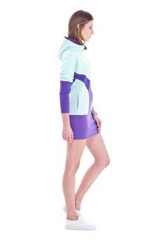 OKUAKU - Earth Hoodie (Mint&Purple)