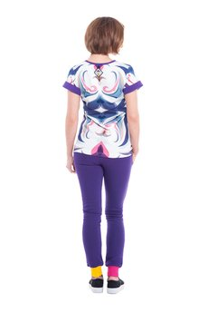 OKUAKU - Carabus T-shirt (Purple)