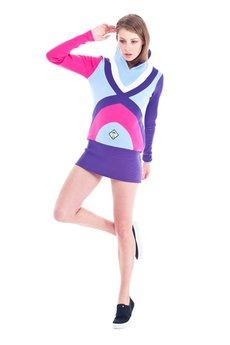 OKUAKU - Galaxy Sweatshirt (Purple)