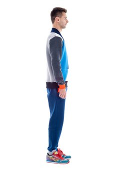 OKUAKU - Kwazar Cardigan (Blue)