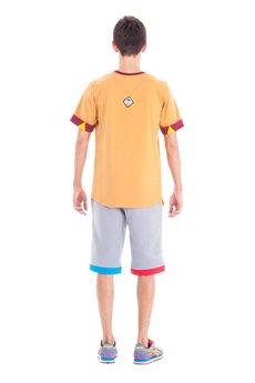 OKUAKU - Cristal Skull Pocket T-shirt (Carmel)