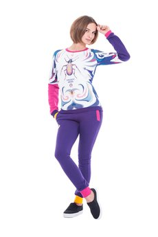 OKUAKU - Carabus Sweatshirt (Pink)