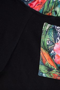 taff.one - Cozy Shortz Jungle Black