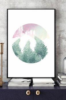 Parallel World - Art print 30x40 cm.