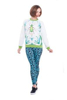 OKUAKU - Carabus Sweatshirt Raglan (Green)