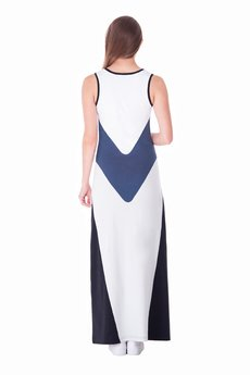 OKUAKU - Pavo Maxi Dress (Grey)