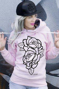 ŁAP NAS - Bluza Black Rose
