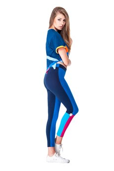 OKUAKU - Vela Leggings (Blue)