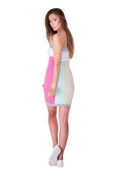 OKUAKU - Telescopium Dress (Pastel)