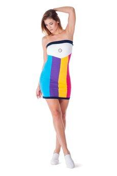 OKUAKU - Telescopium Dress (Rainbow)