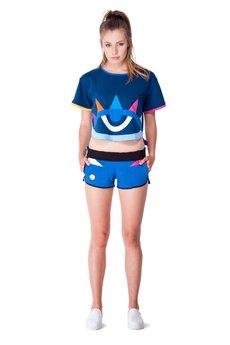 OKUAKU - Serpens Board Shorts (Blue)