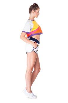 OKUAKU - Serpens Board Shorts (White)