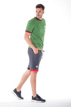 OKUAKU - Carabus Pocket T-shirt (Green Melange)