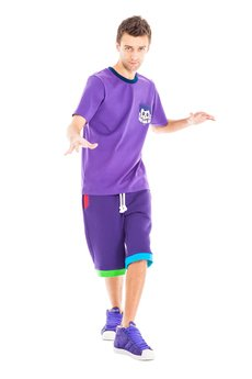 OKUAKU - Serpens Shorts (Purple)