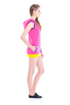 OKUAKU - Space Dwarf Vest (Pink)