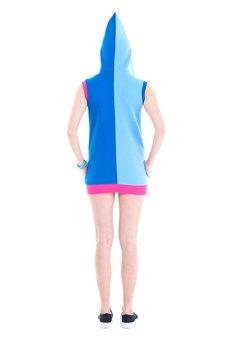 OKUAKU - Space Dwarf Vest (Blue)