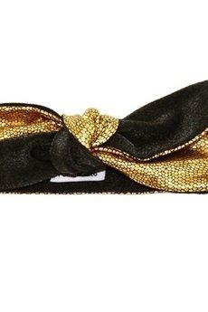 Dzianinowa opaska pinup GOLD - 51400