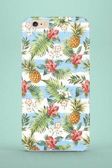 MIA home passion - Etui na telefon Blue Striped Pineapples