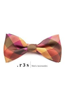 r3s men's accessories - mucha MULTICOLOR PLAID