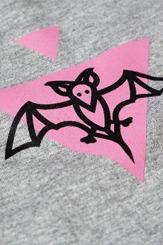Piekuo - T-shirt Bat Power mini