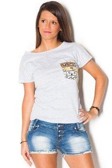 beYOUnique - Damski T-shirt Simply Unique GREY