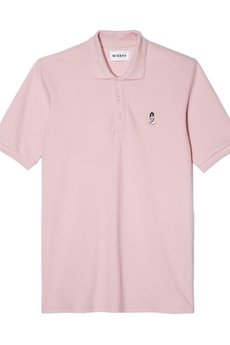 PIN UP POLO SHORTSLEEVE IN PINK - 53011