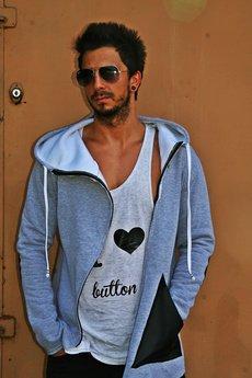 Button - CARDIGAN BUTTON CHUNKY kolory łaty aeb670