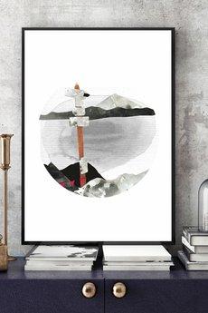 Parallel World - Górskie Szlaki... art print 30x40 cm.