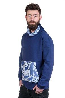 Slogan ubrania ekologiczne, etyczne i wegańskie - BRONX bluza bawelna organiczna