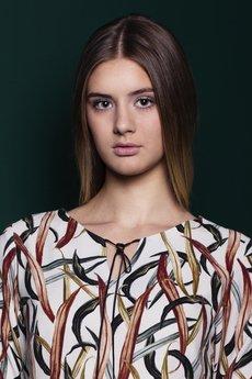 MROVCA - Sukienka w liście