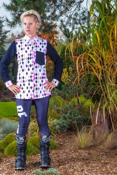 taff.one - koszula Shee Shirt Rhomb