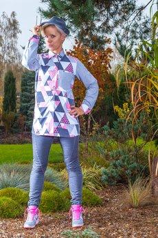 taff.one - koszula Shee Shirt Triangle