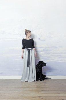 RISK made in warsaw - spódnica z kokardą BALDRESÓWA