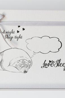 Love To Sleep - POSZEWKI NA PODUSZKI Z NAPISAMI LOVE YOU & LOVE YOU MORE