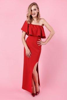 Zjawiskowa sukienka lola marchiano czerwona c8e8ad