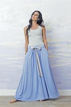 Spodnica maxi baldresowa blue c64de7