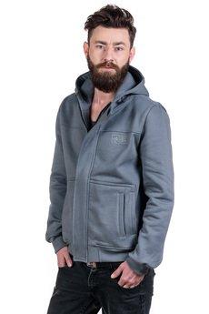 Slogan ubrania ekologiczne, etyczne i wegańskie - IMPULS bluza męska grey