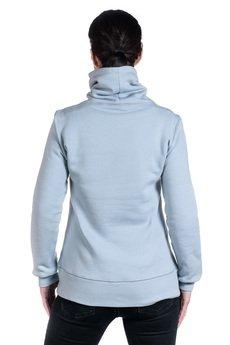 Slogan ubrania ekologiczne, etyczne i wegańskie - POPPY FISH by NRK bluza damska grey