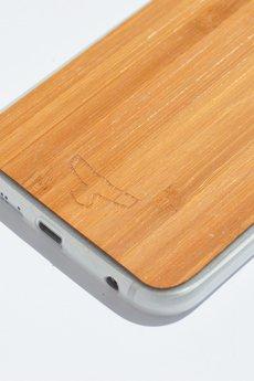 Manitou - Thundercase Bamboo White S6 EDGE II