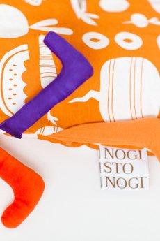 NOGISTONOGI - ŚPIWOREK 100% ORGANIC Kolekcja ARBUZ