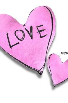 Poduszkownia - Poduszka serce rysunkowe Love