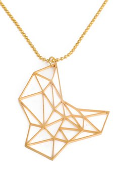 VENIS - WISIOR GOLDEN STEEL GEOMETRIC