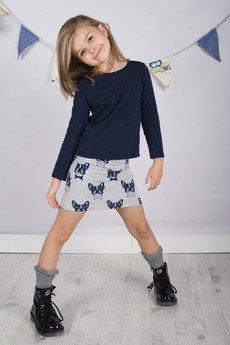 Long spodniczka dluga dresowa dziewczeca szara b56727.jpeg