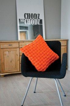 Poduszka bawelniana tangerine weave 121c66