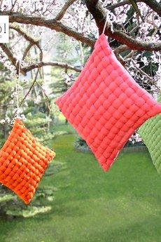 Poduszka bawelniana tangerine weave fa5cdd
