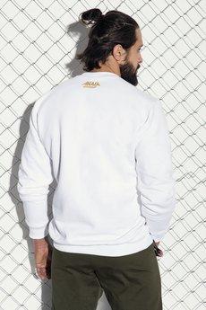 AKALA wear - Bluza White Stamp