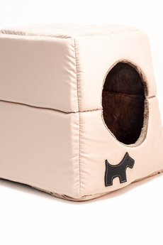 Budka dla psa lub kota KODURA / EKOSKÓRA (M) - 59237