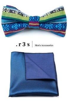 r3s men's accessories - ZESTAW R3S MUCHA + POSZETKA