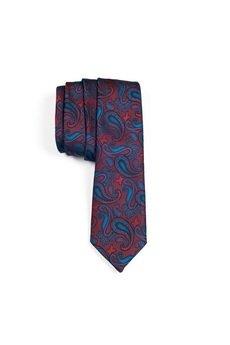 r3s men's accessories - krawat jedwabny multicolour silk