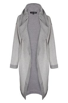 BLACKBOW - MAXI CARDIGAN GREY